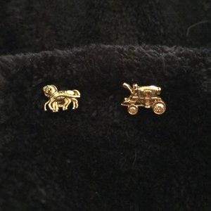 Coach Carriage earrings